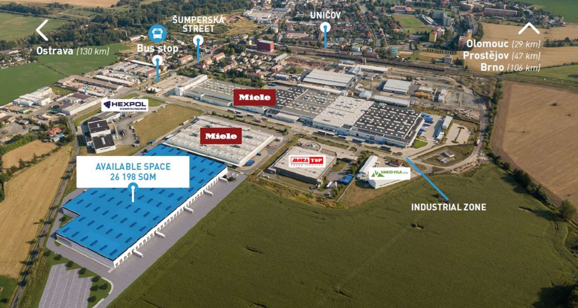 Industrial and logistics Unicov,  - Panattoni Park Uničov