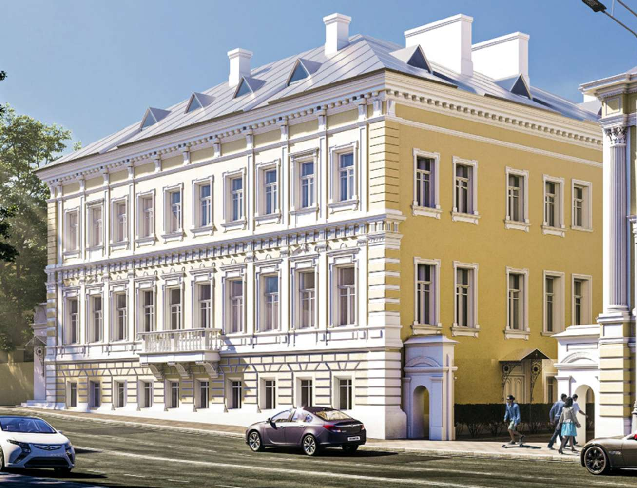 Офисная недвижимость Москва,  - Пречистенка ул. 8 стр. 1