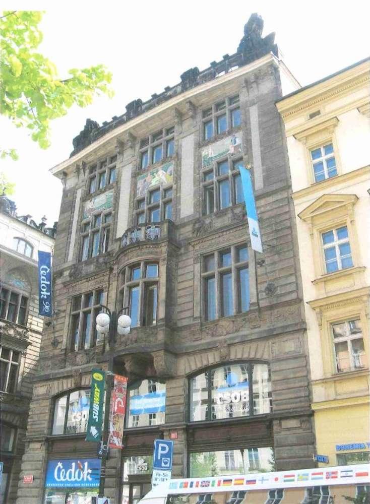 Kanceláře Praha, 110 00 - Na Příkopě 18
