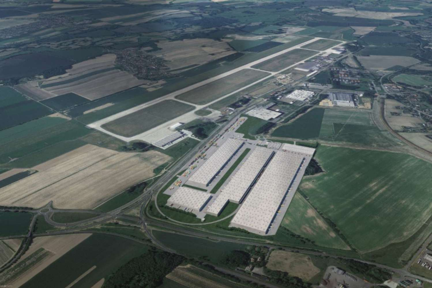 Industrial and logistics Mosnov,  - Ostrava Airport Multimodal Park