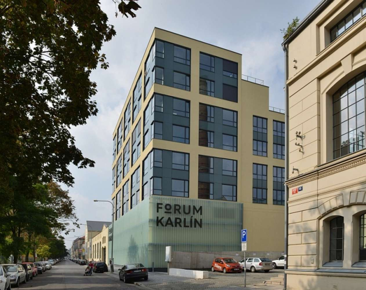Coworking and serviced offices Prague, 186 00 - Serviced Offices & Coworking Forum Karlín