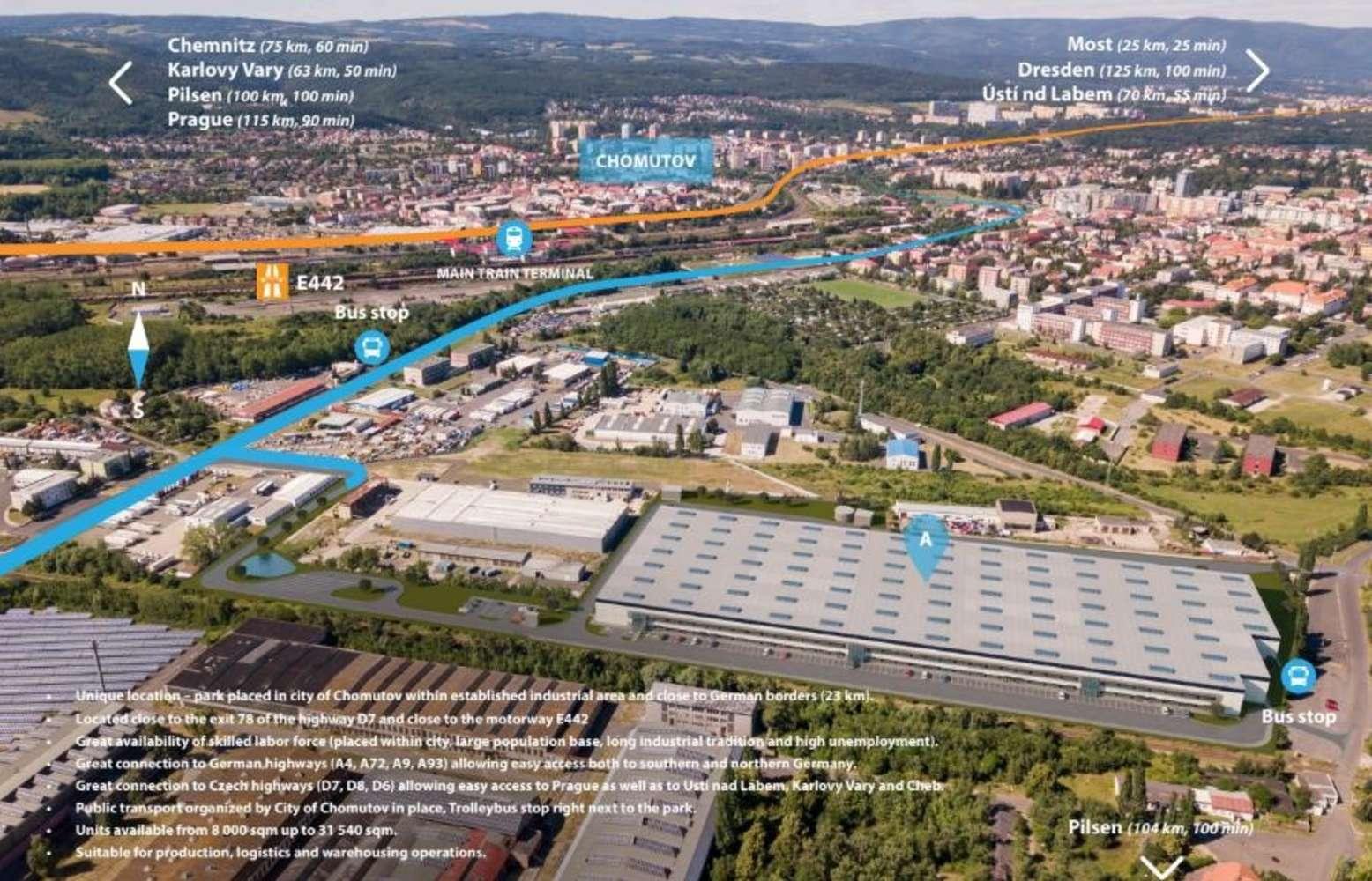 Industrial and logistics Chomutov,  - Garbe Park Chomutov
