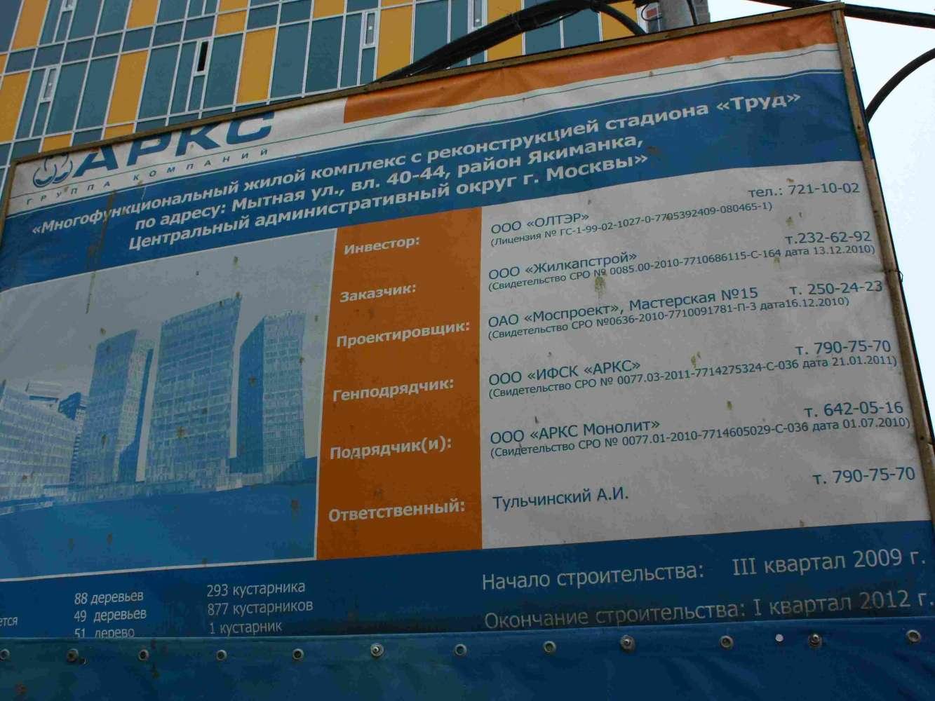 Офисная недвижимость Москва,  - SKY House - 2