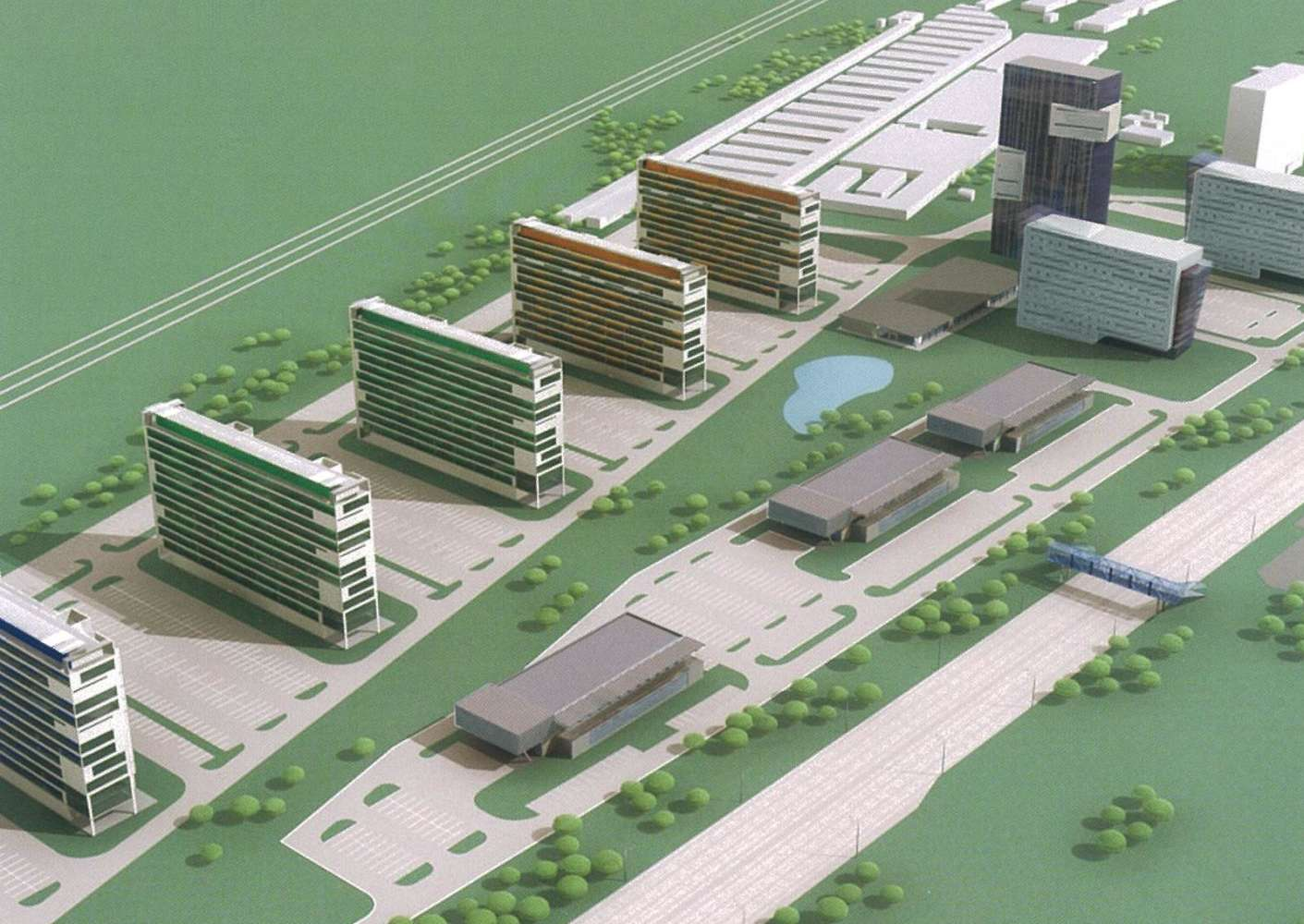 Офисная недвижимость Москва,  - Химки Бизнес Парк Фаза III - 3