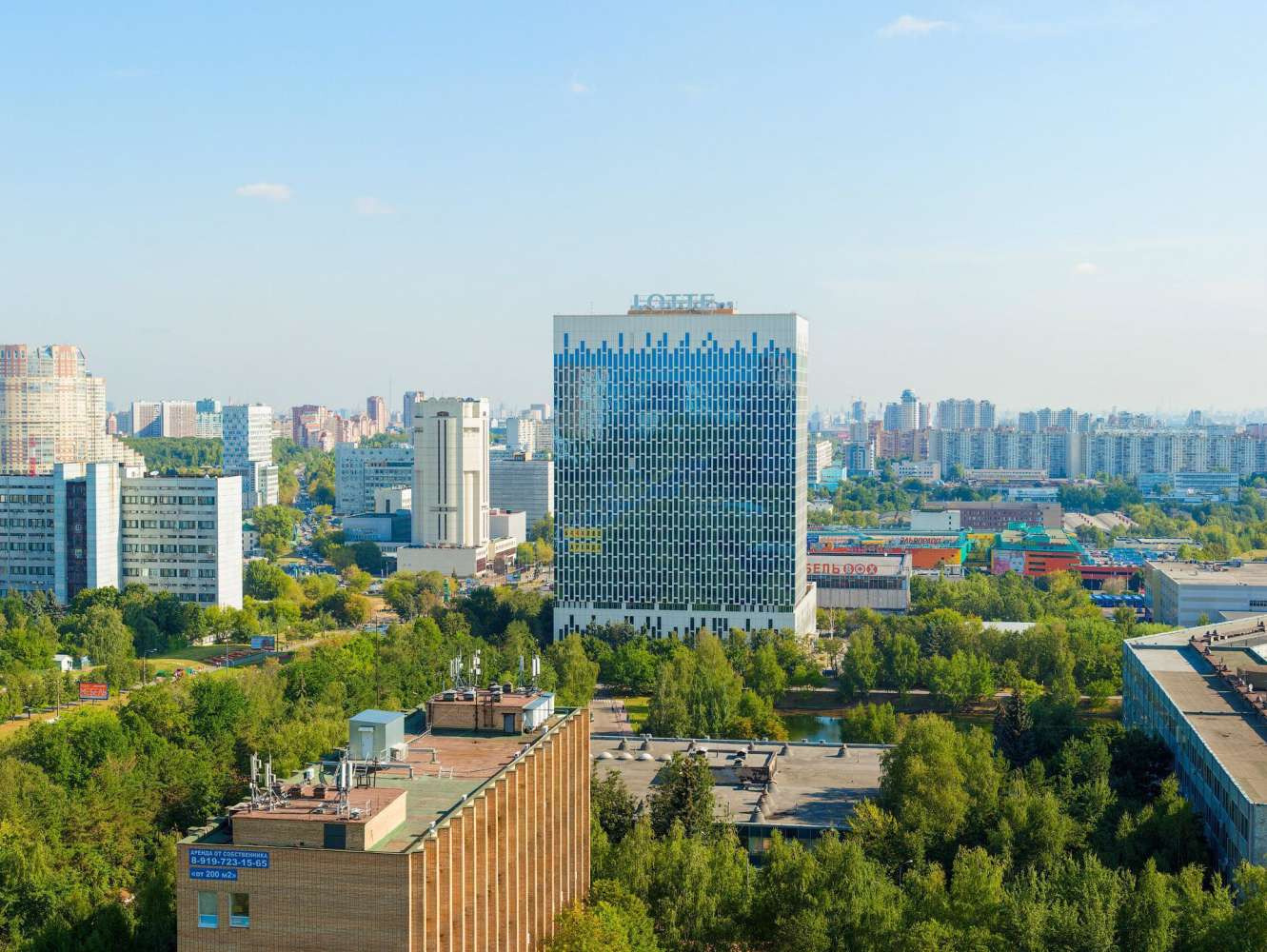 Офисная недвижимость Москва,  - ЛОТТЕ - 22
