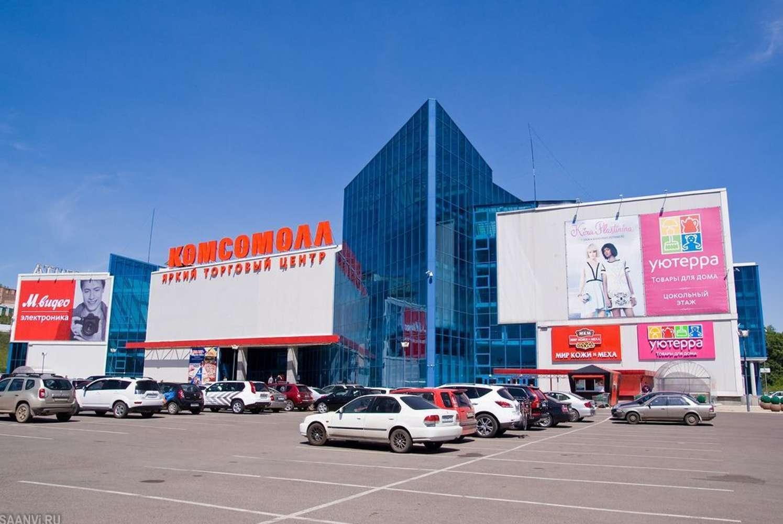 Торговая недвижимость Красноярск,  - КомсоМОЛЛ (экс. Огни)