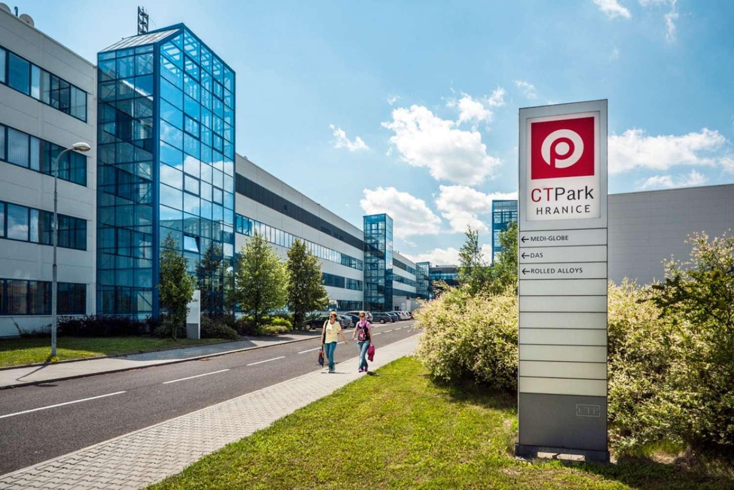 Průmyslové nemovitosti Hranice,  - CTPark Hranice