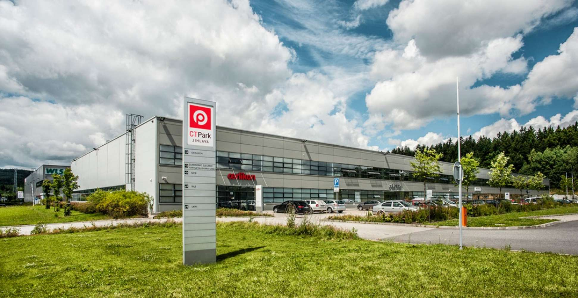 Industrial and logistics Jihlava,  - CTPark Jihlava