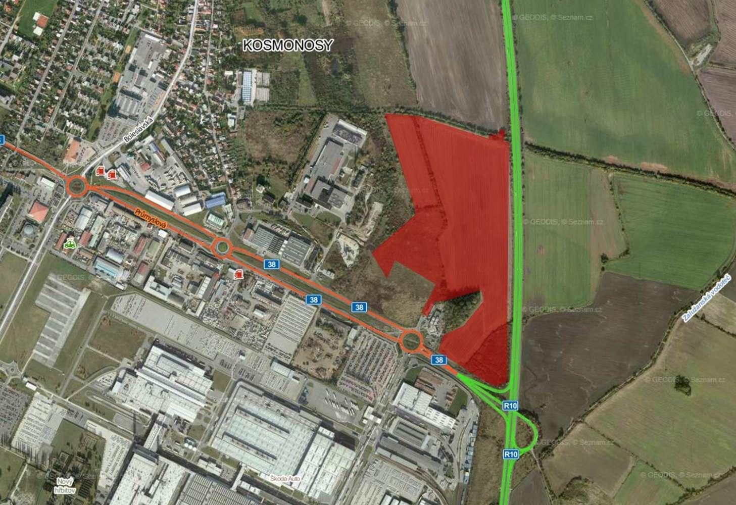 Industrial and logistics Kosmonosy,  - D+D Park Kosmonosy - 329691476107977