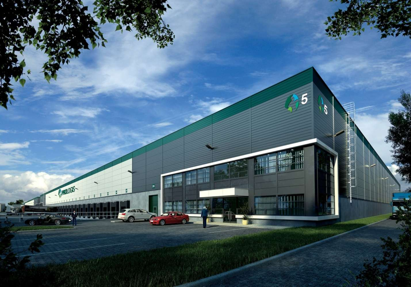 Industrial and logistics Syrovice,  - Prologis Park Brno-Syrovice
