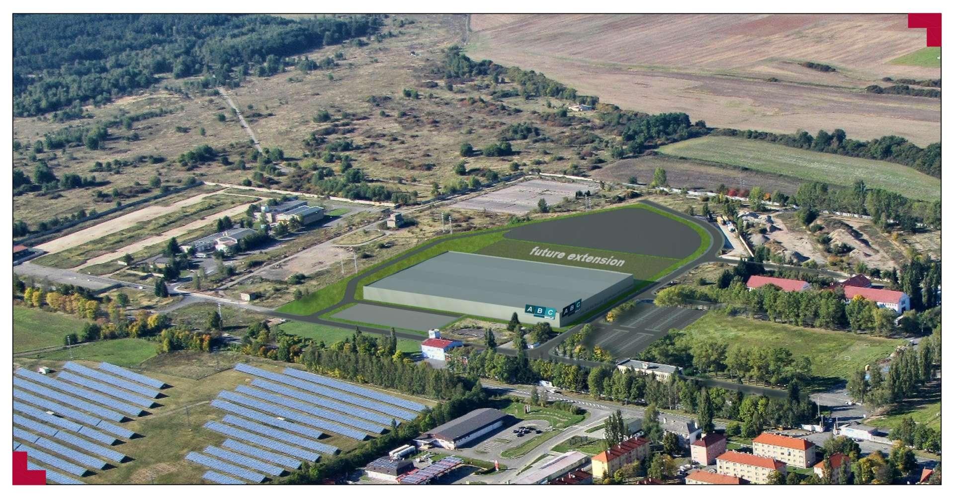 Průmyslové nemovitosti Stribro,  - CTPark Stříbro - 327544473776801
