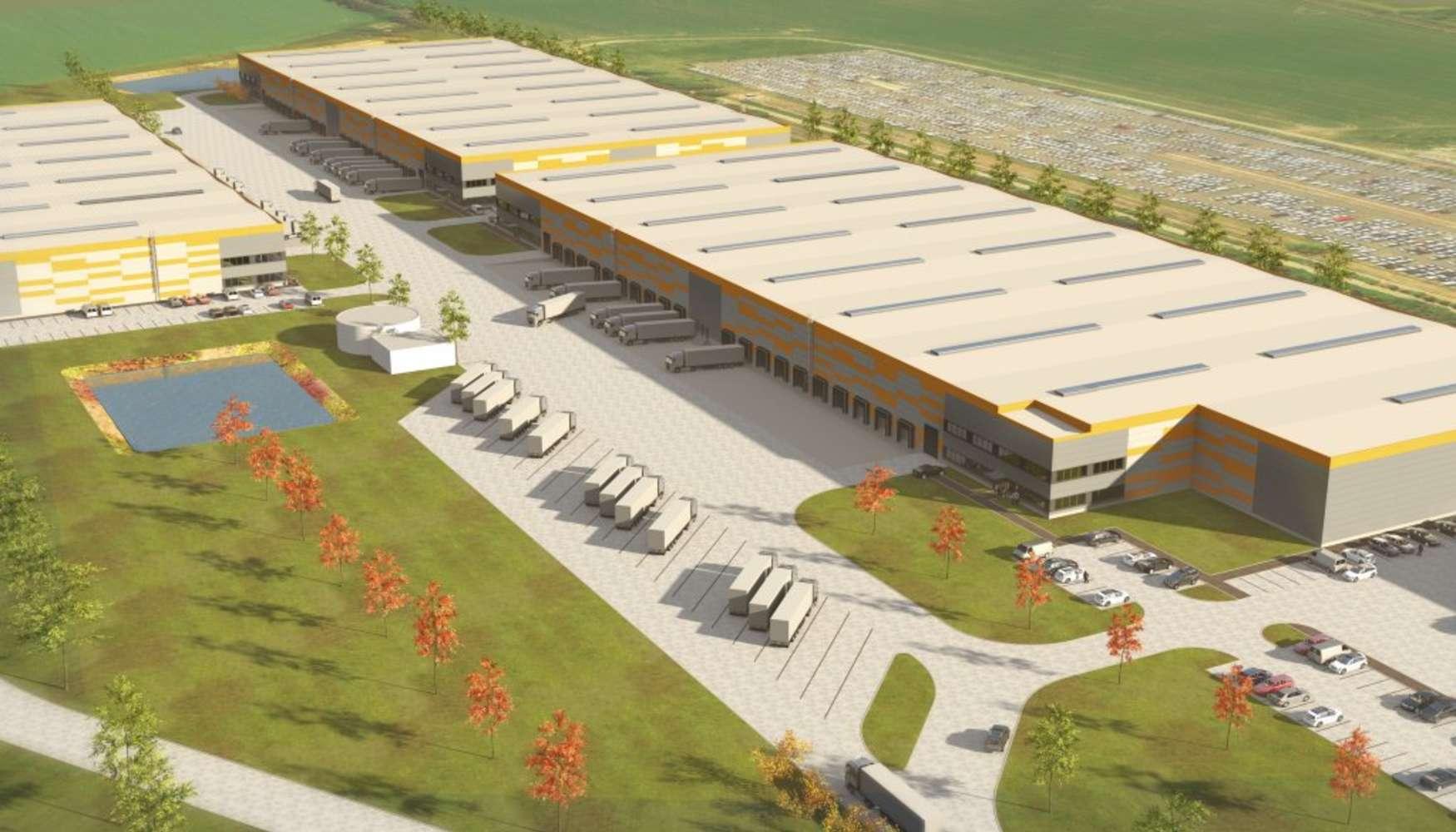 Industrial and logistics Jenec - pavlov,  - VGP Park Jeneč