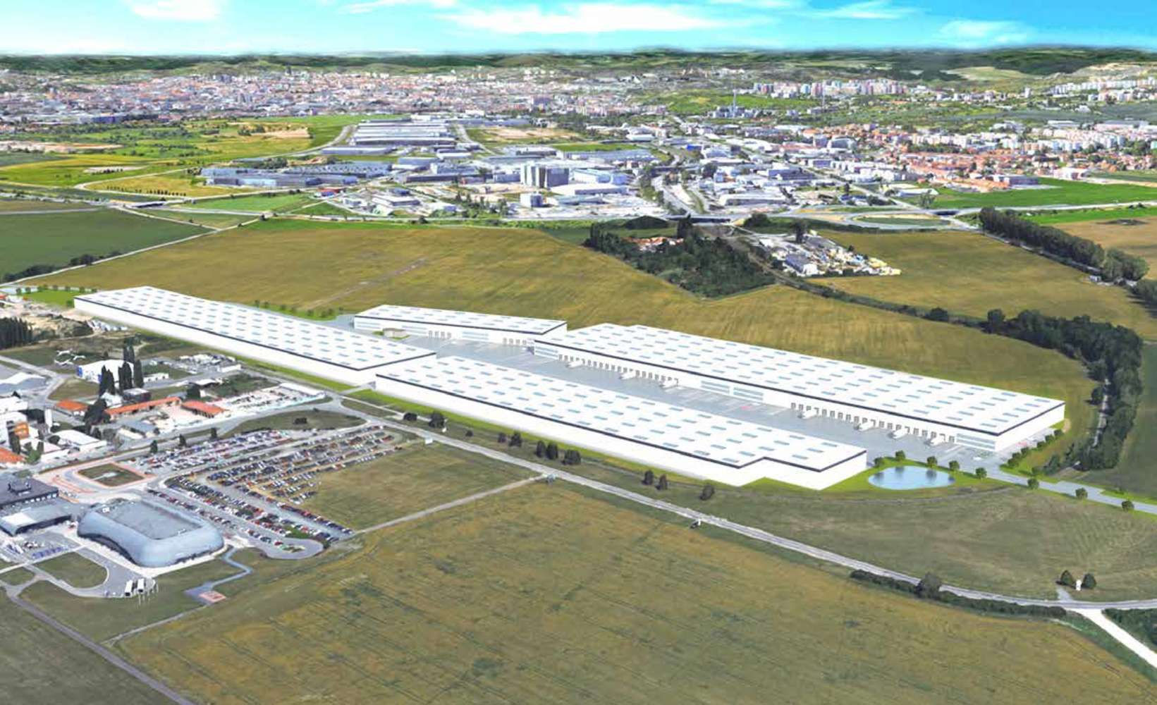 Průmyslové nemovitosti Brno - turany,  - Panattoni Park Brno Airport