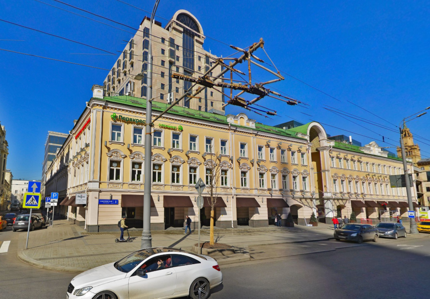 Офисная недвижимость Москва,  - Смоленский Пассаж (Фаза I) - 3