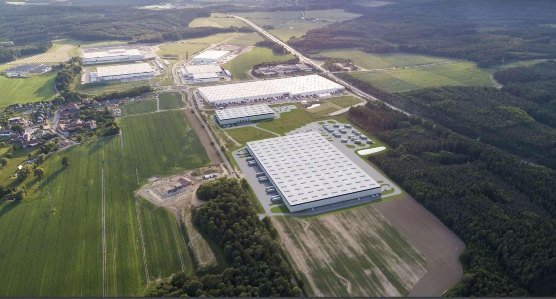 Industrial and logistics Ostrov u stribra,  - Panattoni Park Stříbro II