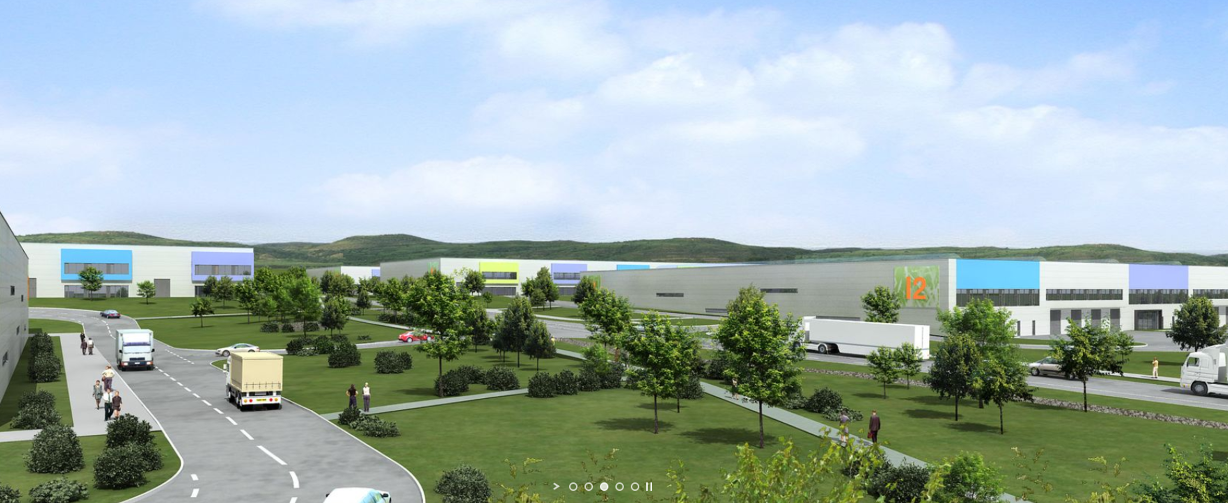 Industrial and logistics Chomutov,  - Centrepoint Verne Industrial Park - 6