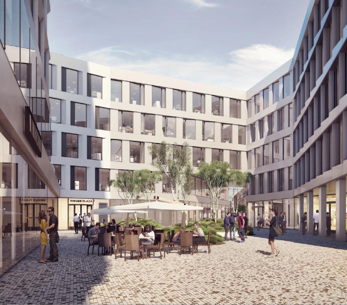 Offices Hradec kralove, 500 02 - Rieger Plaza - Building A - 1