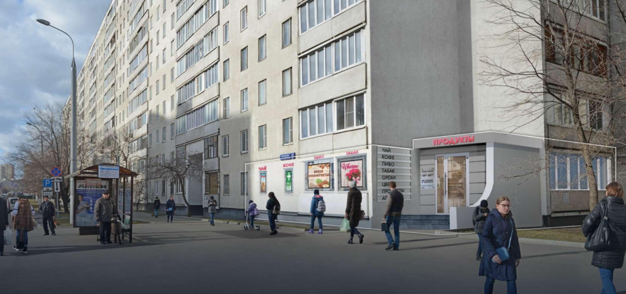 Торговая недвижимость Москва,  - Милашенкова ул. 10