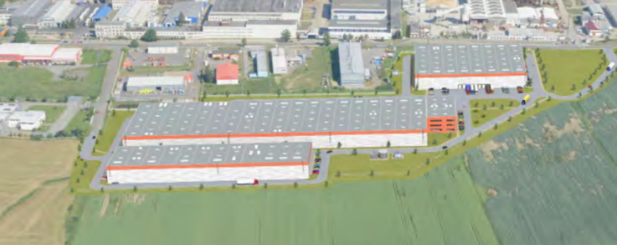 Industrial and logistics Plana nad luznici, 391 11 - CSPPark Planá nad Lužnicí - 080