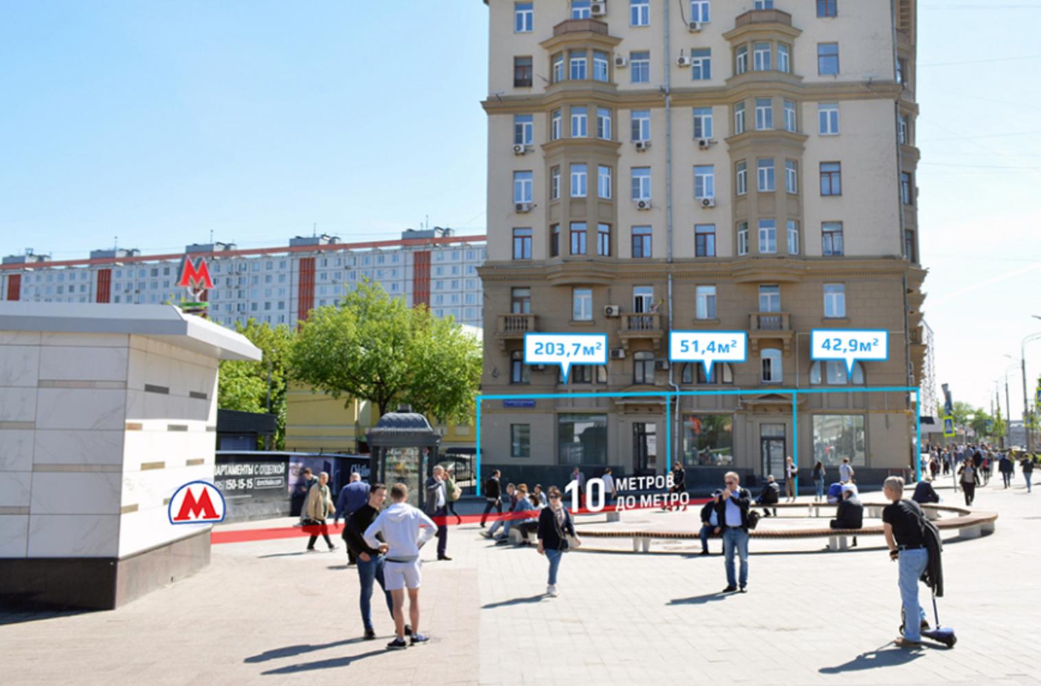 Торговая недвижимость Москва,  - Земляной Вал ул. 39/1 стр. 1 - 4