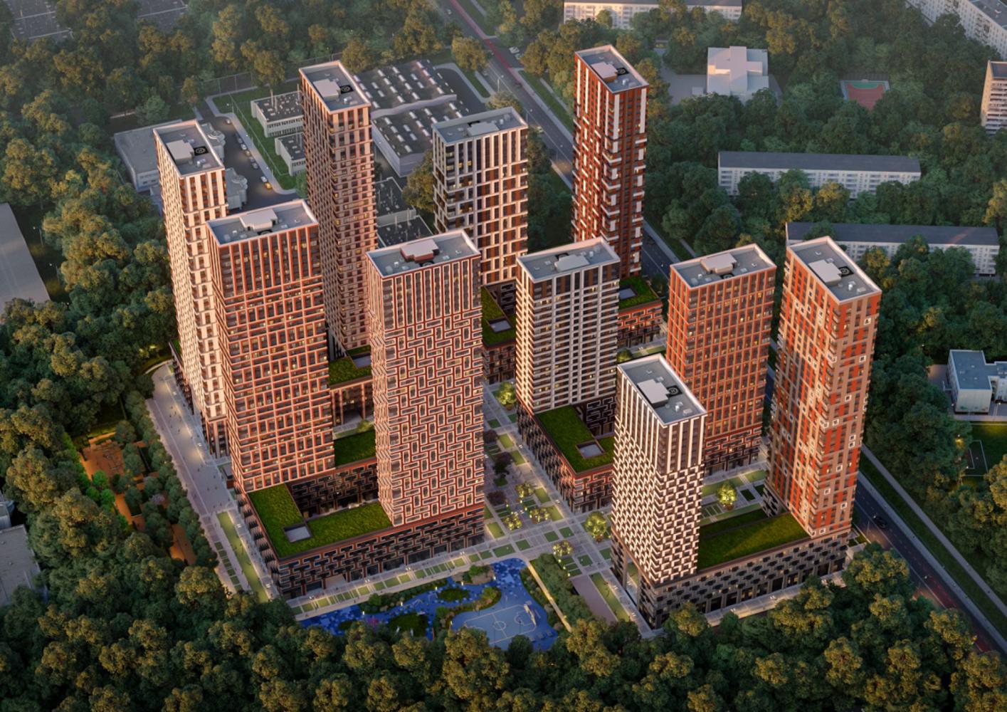 Офисная недвижимость Москва,  - Level Амурская ЖК - 0