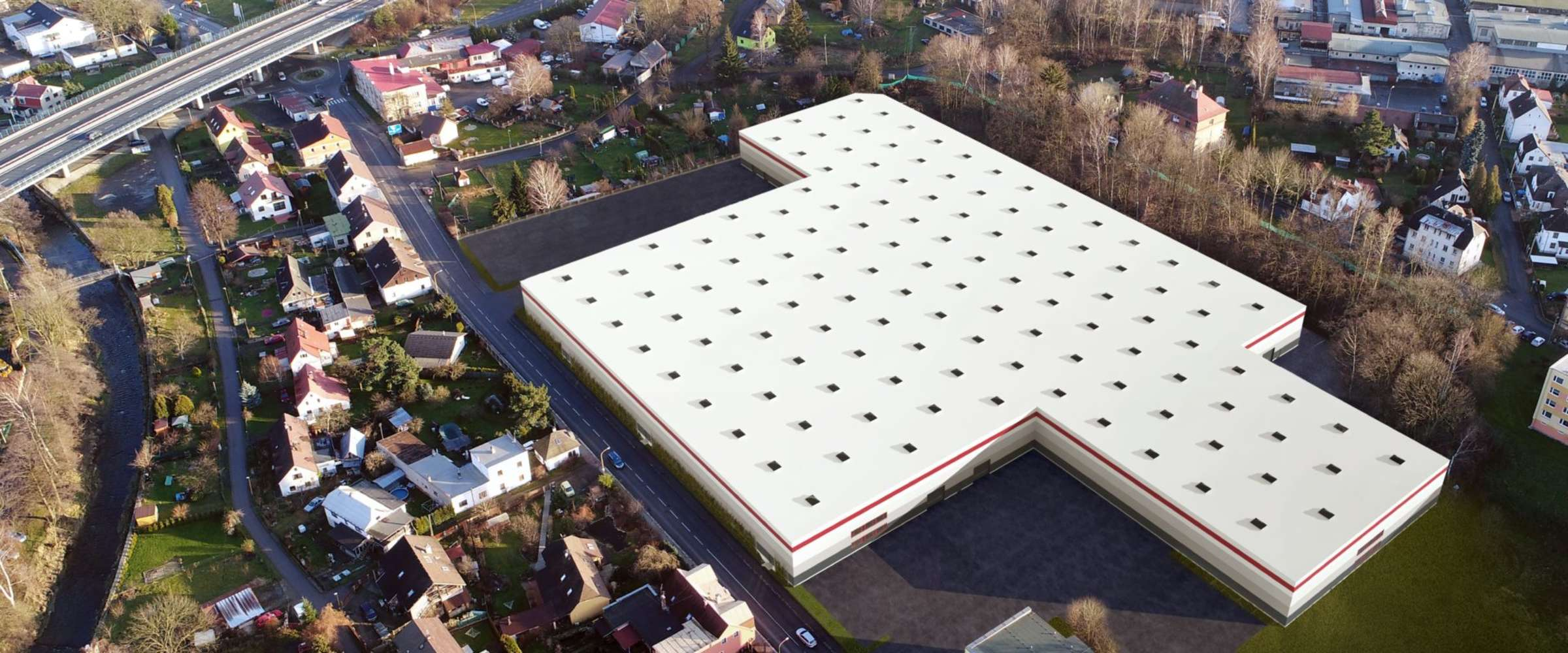 Industrial and logistics Chrastava,  - Renwon Business Park Chrastava