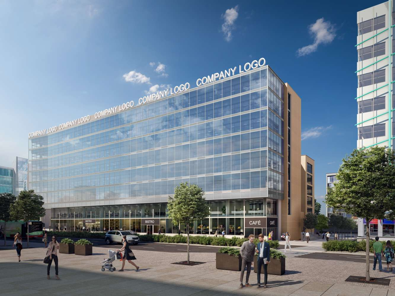 Offices Prague, 140 00 - BB Centrum - Building B
