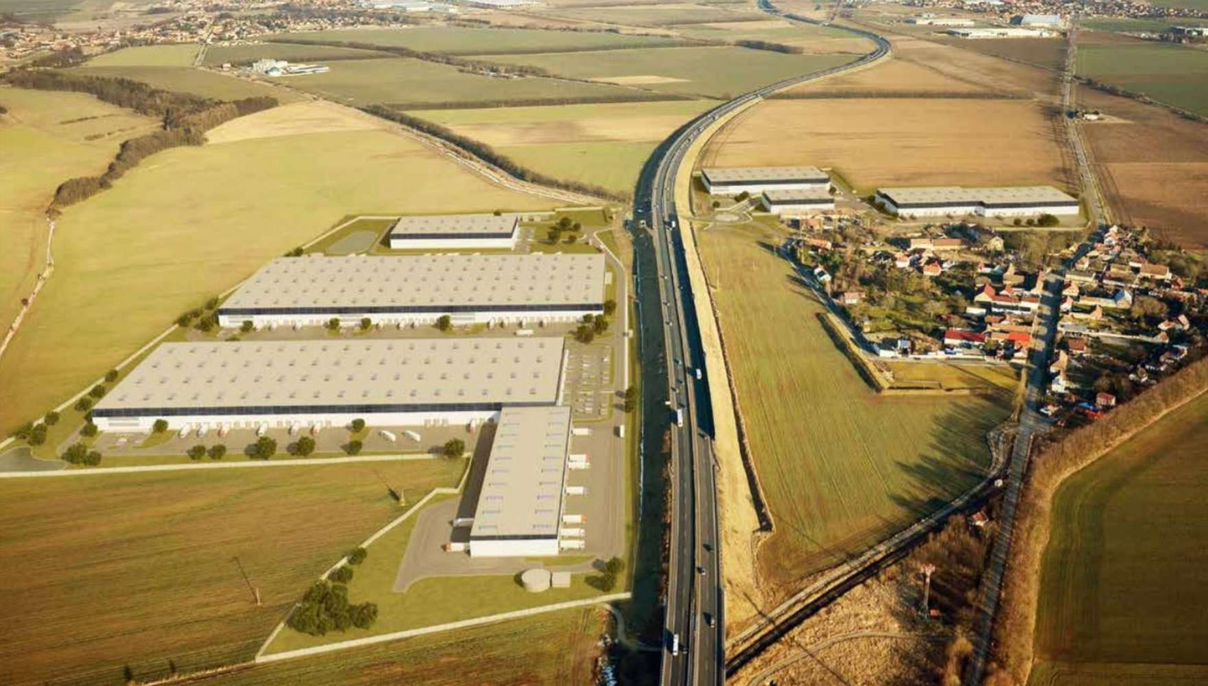 Industrial and logistics Jenec - pavlov,  - Panattoni Park Prague Airport II