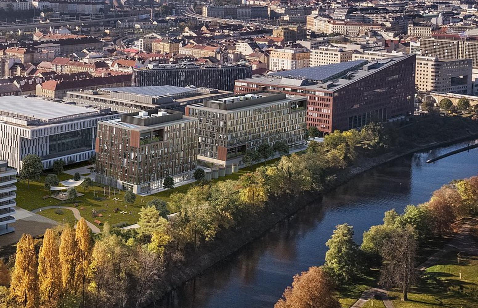 Offices Prague, 186 00 - River City Prague - Mississippi House - 8