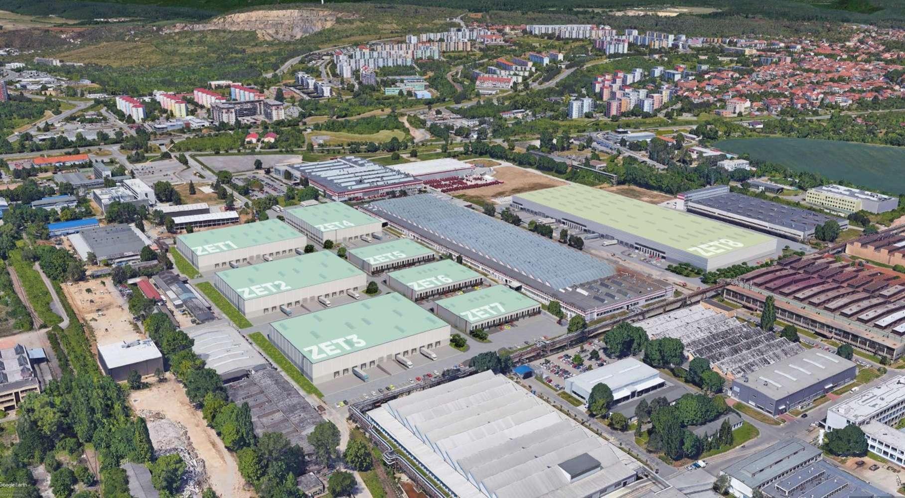 Průmyslové nemovitosti Brno - lisen,  - CTPark Brno Líšeň