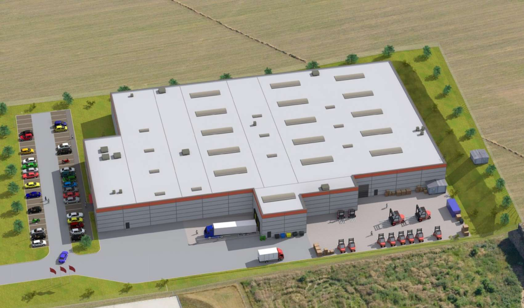 Industrial and logistics Velke bilovice,  - CSPPark Velké Bílovice