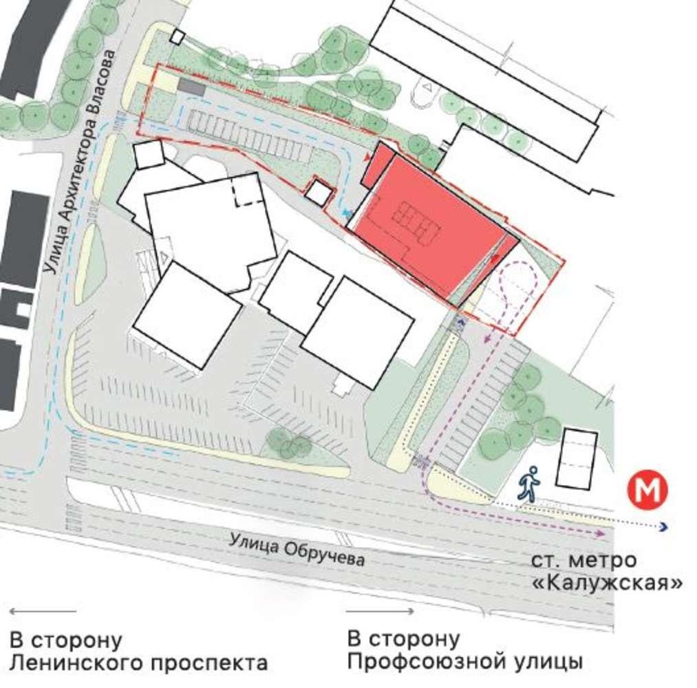 Офисная недвижимость Москва,  - Обручева 23