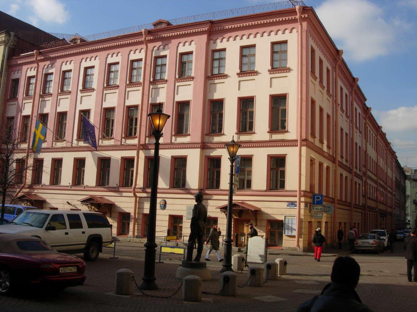 Офисная недвижимость Санкт-петербург, 191186 - Шведский Дом - 4