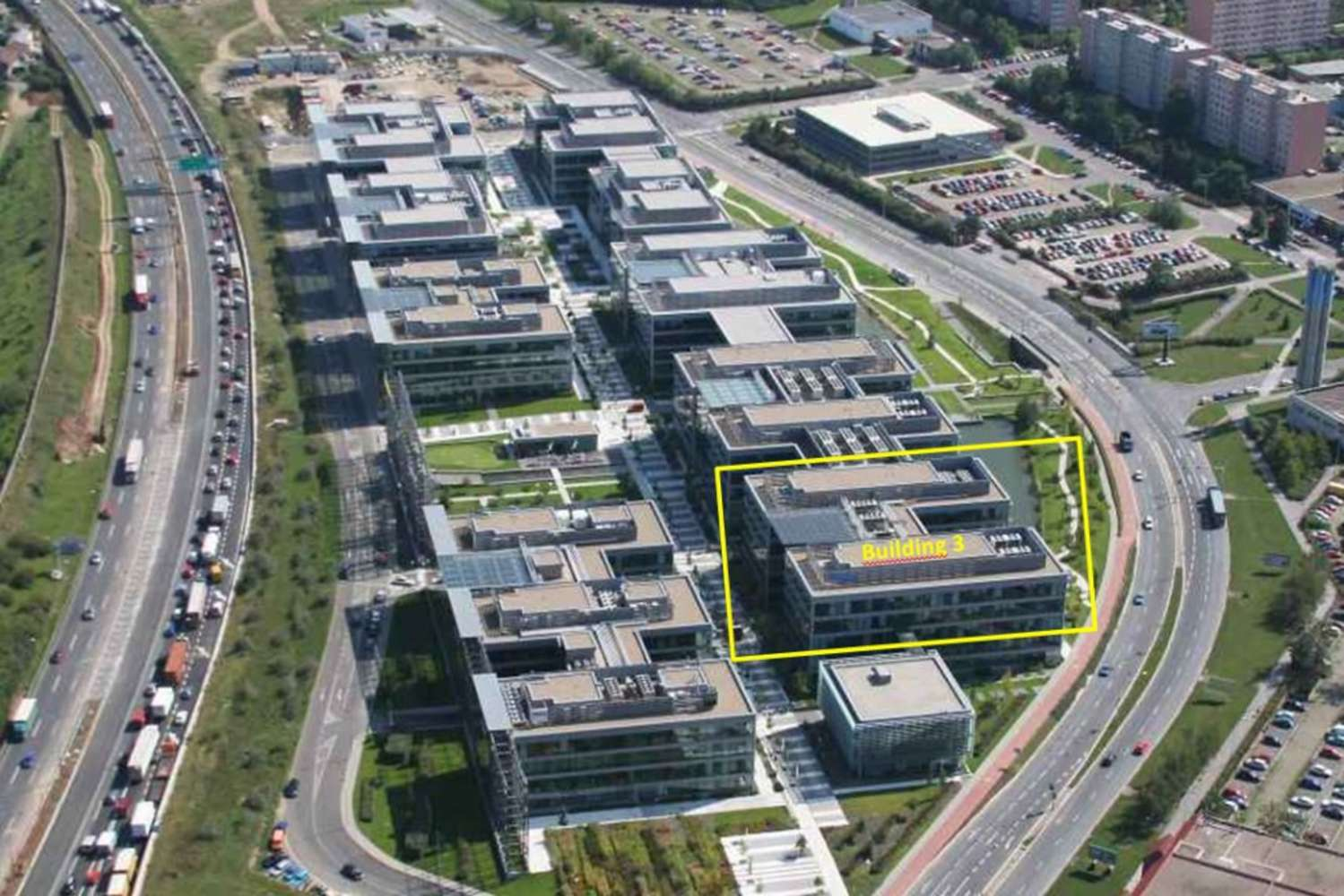 Offices Prague, 148 00 - The Park - Building 3 - 3