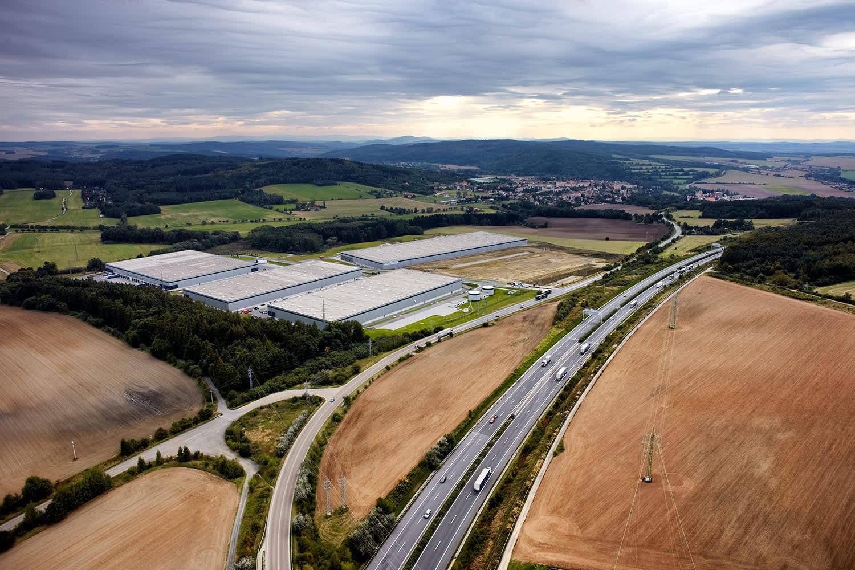 Industrial and logistics Stenovice,  - Prologis Park Pilsen-Štěnovice - 1