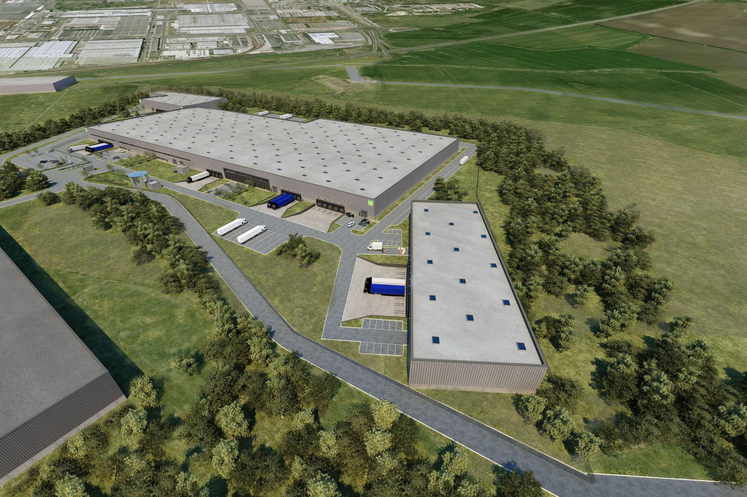 Industrial and logistics Plazy,  - Goodman Mladá Boleslav Logistics Centre - 326562237351269
