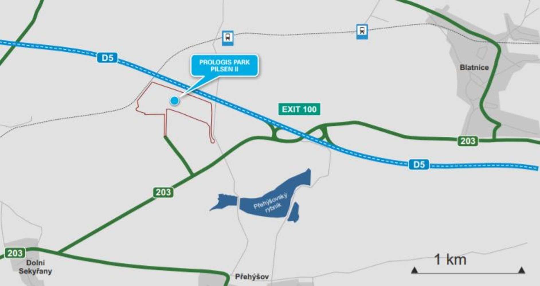 Industrial and logistics Nyrany,  - Prologis Park Pilsen II - 7