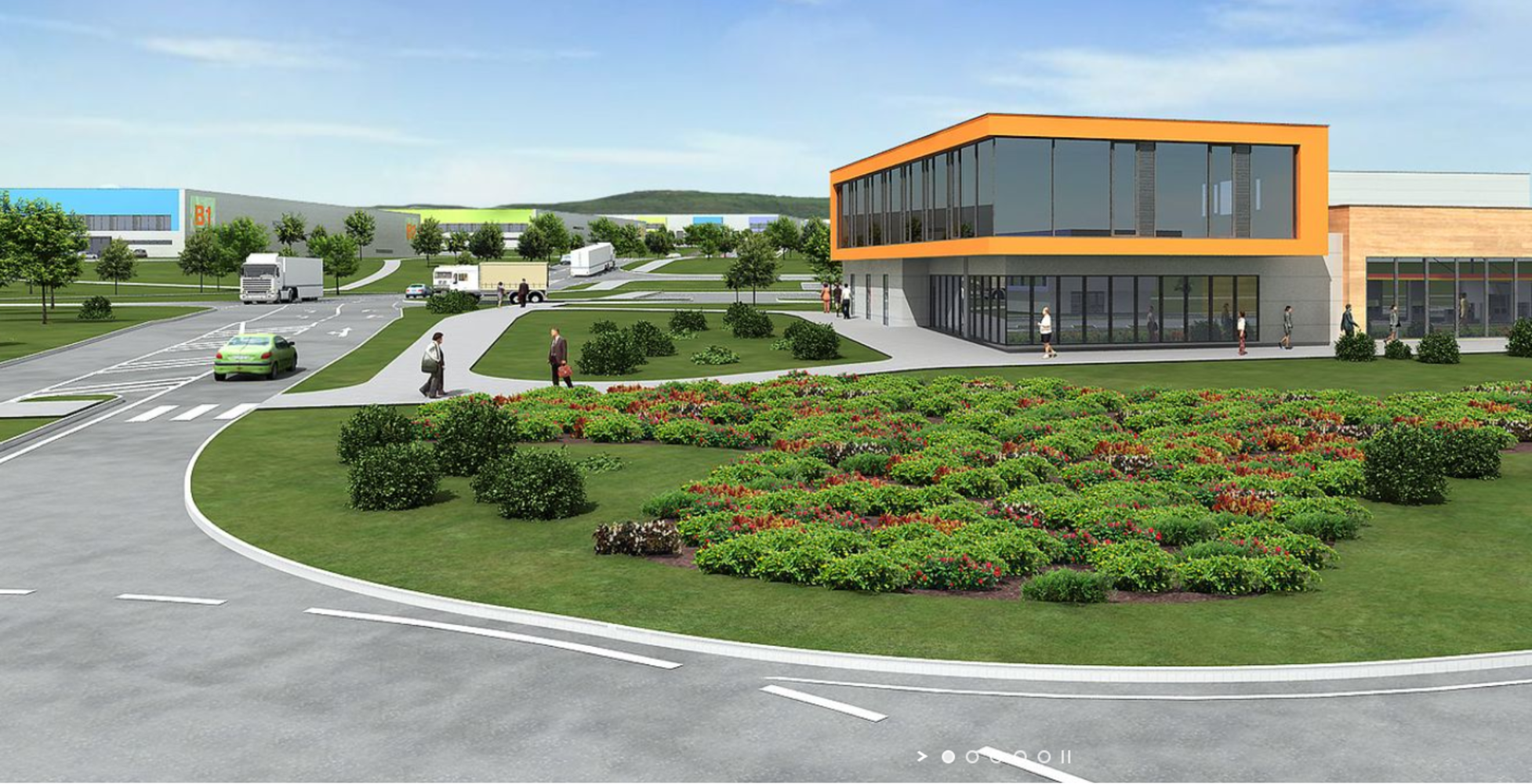 Industrial and logistics Chomutov,  - Centrepoint Verne Industrial Park - 3