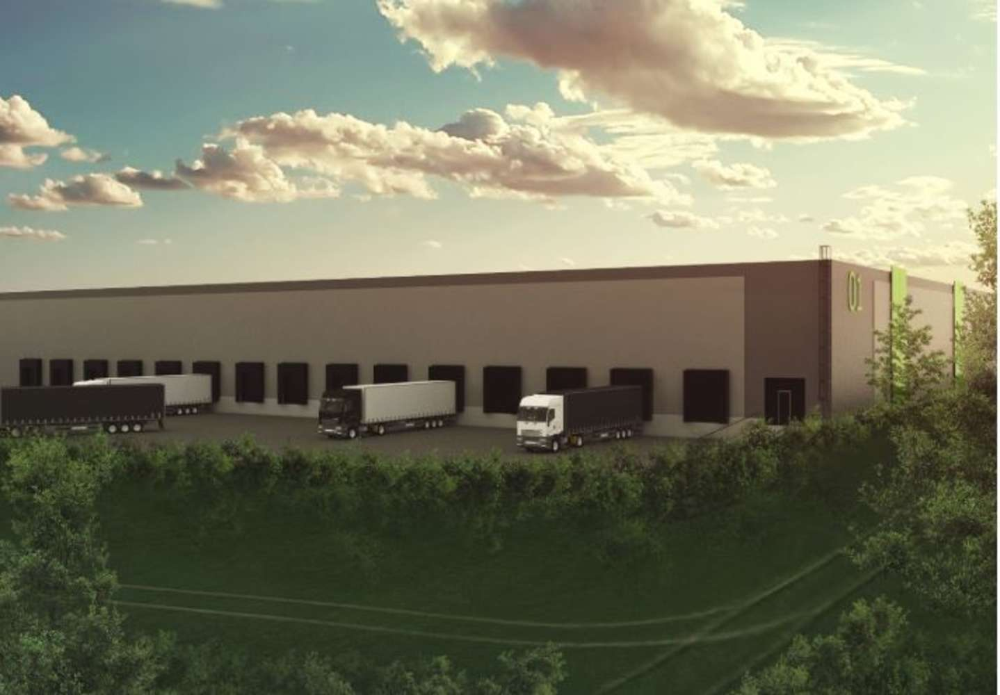 Industrial and logistics Olomouc - bystrovany,  - Link Olomouc Bystrovany - 7