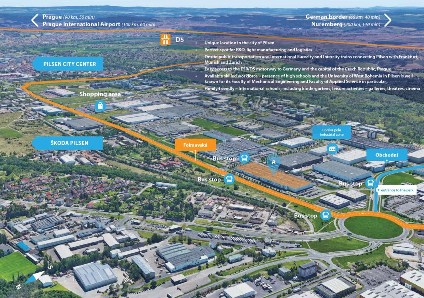 Industrial and logistics Pilsen, 301 00 - Panattoni Park Pilsen City - 1