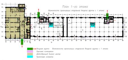 Смоленский - Офисная недвижимость, Аренда 1