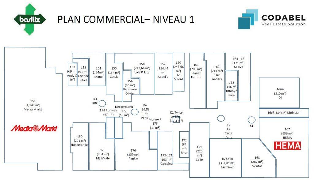 f02a87aa09 Commerce à louer à Berchem Sainte Agathe (Avenue Charles Quint 420 ...
