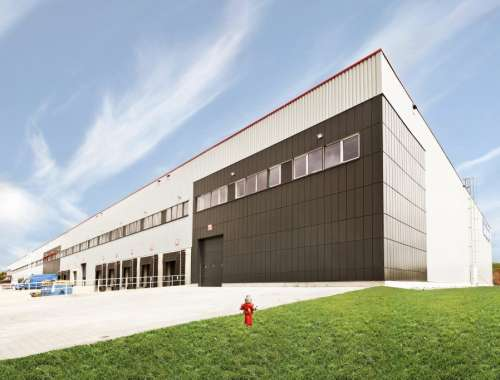 Industrial and logistics Hostivice,  - SEGRO Logistics Park Prague - 9