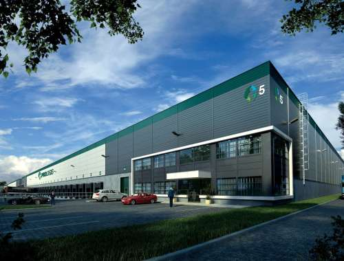 Industrial and logistics Syrovice,  - Prologis Park Brno-Syrovice - 1
