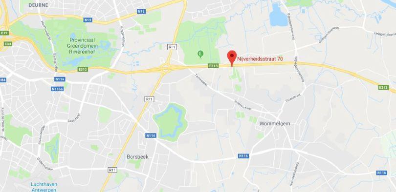 Bureau à louer à Wommelgem