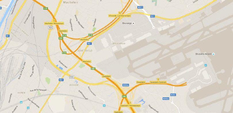 Industriel & Logistique à louer à Machelen