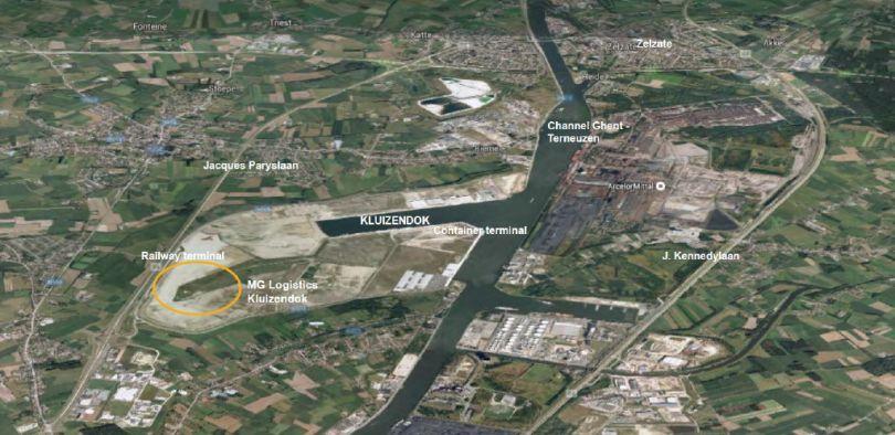 Industrie & Logistiek te huur Evergem