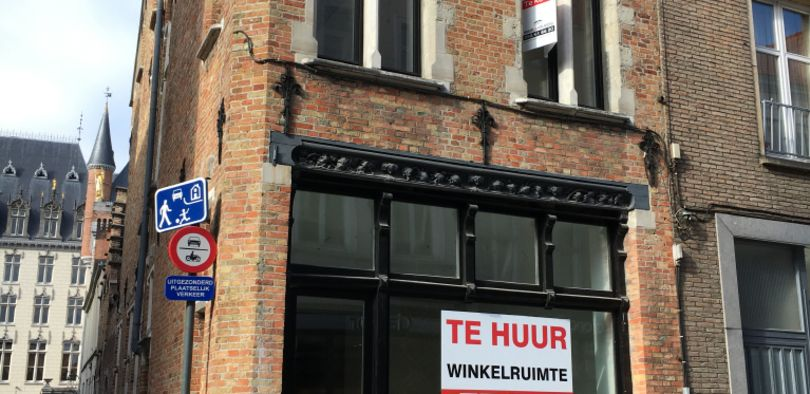 Winkel te huur Brugge