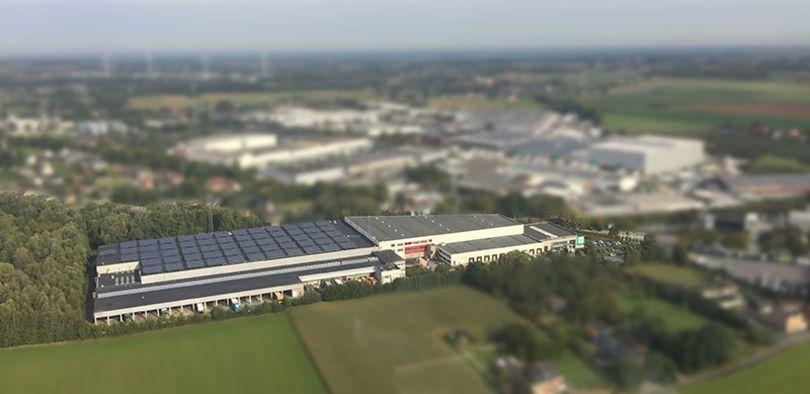 Industriel & Logistique à louer à Zellik
