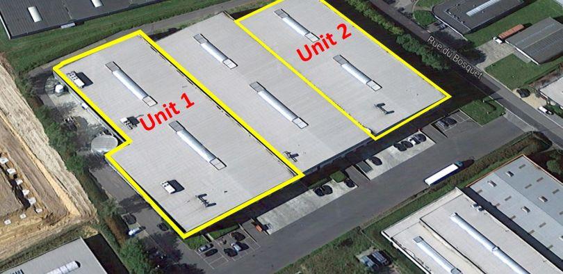 Industriel & Logistique à louer à Nivelles